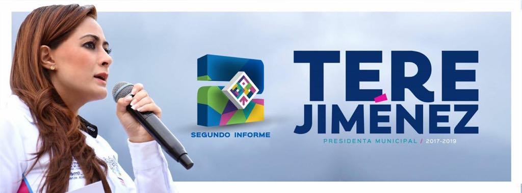 Llevará Tere Jiménez segundo informe a toda la ciudad