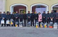 Entregan nuevo equipo a policías y bomberos de Jesús María