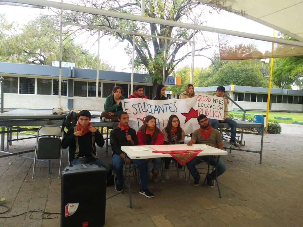 Sigue inconformidad de la Unión Estudiantil en la UAA