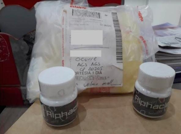 Decomisan pastillas de clembuterol en aeropuerto de Aguascalientes
