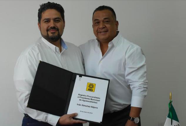 Se registra Sánchez Nájera como precandidato del PRD