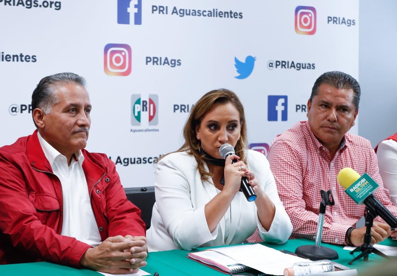 Grupos al interior del PRI, no decidirán candidaturas