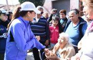 Realiza Tere Jiménez limpia en San Marcos