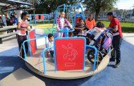 Inaugura Tere Jiménez parque para personas con discapacidad