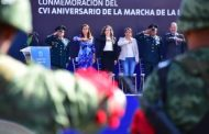 Conmemoró Tere Jiménez Marcha de la Lealtad