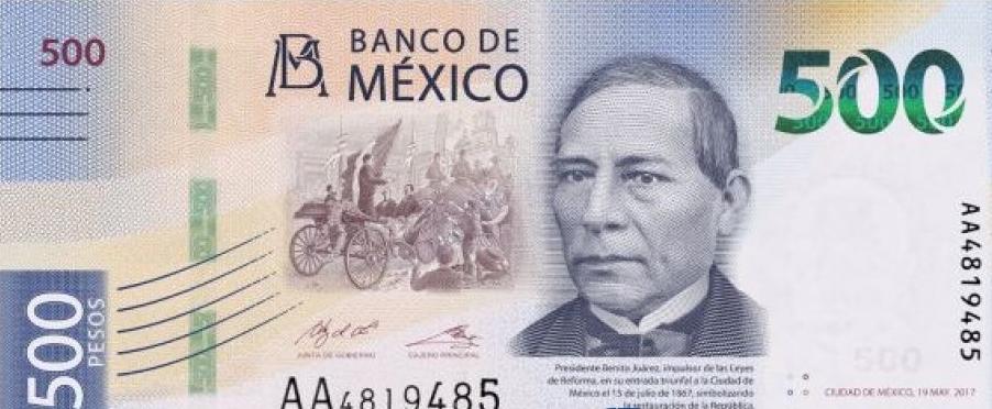 Alertan por circulación de billetes de 500 pesos, falsos