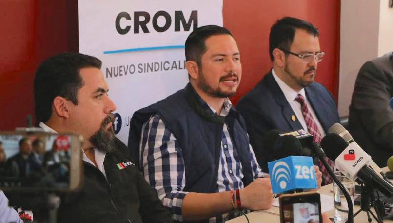 Pide CROM propuestas de altura a candidatos y fuerzas políticas