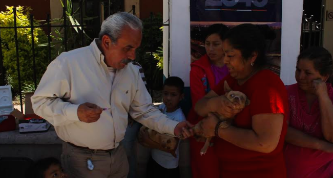 Arranca campaña de vacunación antirrábica en Jesús María