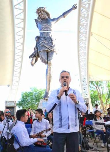 Debuta Orquesta de Jesús María en el Santuario del Cristo Roto