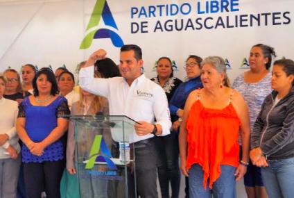 Presenta Vicente Pérez decálogo de propuestas electorales