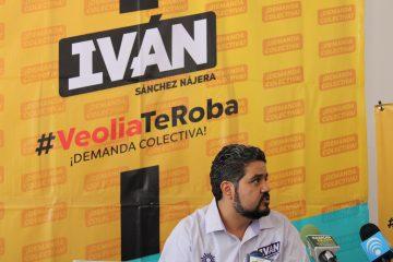 Anuncia candidato del PRD acción colectiva en contra de VEOLIA