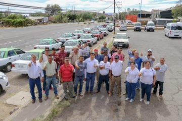 Destaca Adán Valdivia labor de taxistas en Calvillo