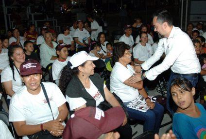 Habrá voto masivo a favor de Morena para cambiar el rumbo de Aguascalientes: Ávila