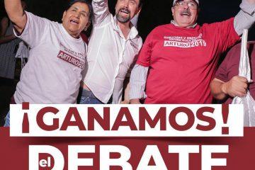 Arturo Ávila también se declara ganador del debate