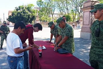 Comienza reclutamiento en Aguascalientes para la Guardia Nacional