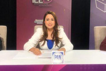 Tere Jiménez dice ganar el debate y apuntalar el triunfo