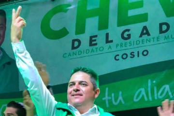«Chevo» Delgado gana la elección en Cosío