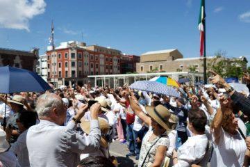 Aguascalentenses se suman a protesta nacional contra AMLO