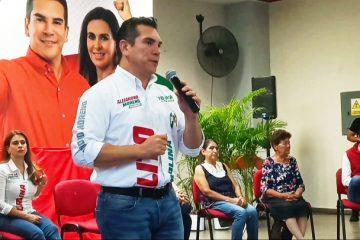 «Alito» visita Aguascalientes; Ivonne Ortega acusa a la dirigencia local de proselitismo