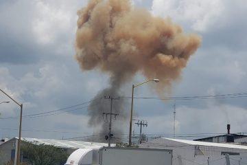 Suspenden actividad de fundidora tras explosión