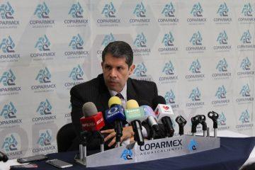 55.7% de socios Coparmex Aguascalientes han sido víctimas de la delincuencia