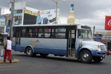5 de cada 10 consideran como malo el servicio de Transporte Público