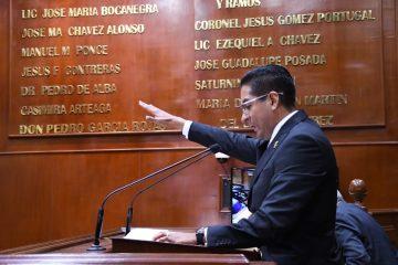 Alejandro Serrano presidirá nueva Mesa Directiva en el Congreso