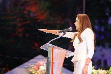 Toma protesta Tere Jiménez para su segundo periodo como alcaldesa