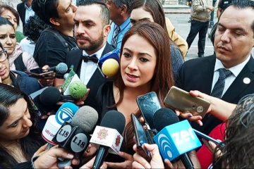 Apoya Tere Jiménez protesta de alcaldes por recortes presupuestales