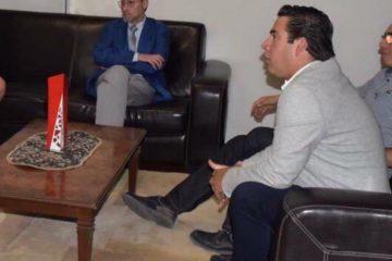 Sostiene reunión dirigente del PAN con rector de la UAA tras polémica iniciativa