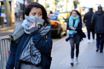 Frentes fríos se extenderán hasta mayo de 2020