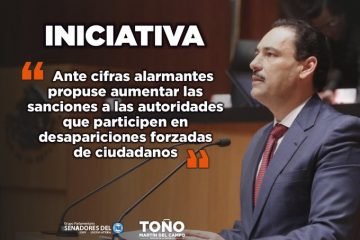 Martín del Campo: Estados obligados a tener Comisión de Búsqueda de Personas Desaparecidas