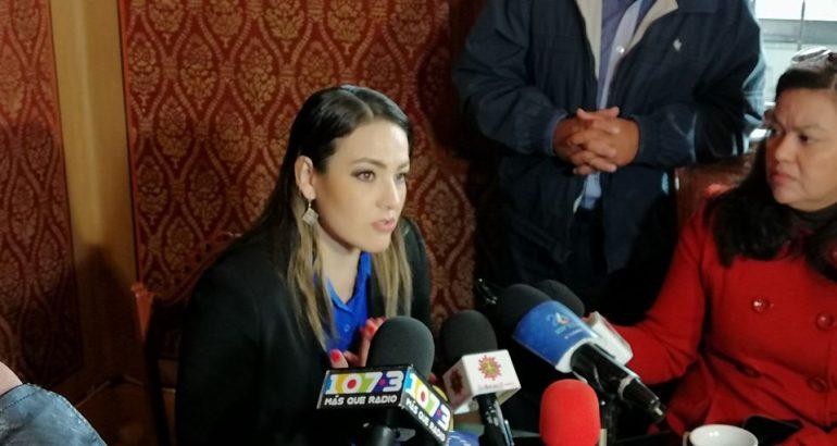 Martha Márquez a favor de la eliminación presupuestal partidista