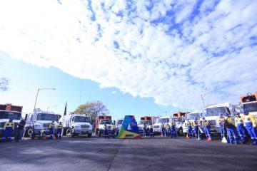 Estrenan camiones en la Dirección de Limpia Aguascalientes