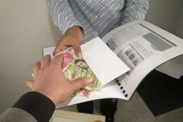 24% de aguascalentenses han participado en actos de soborno