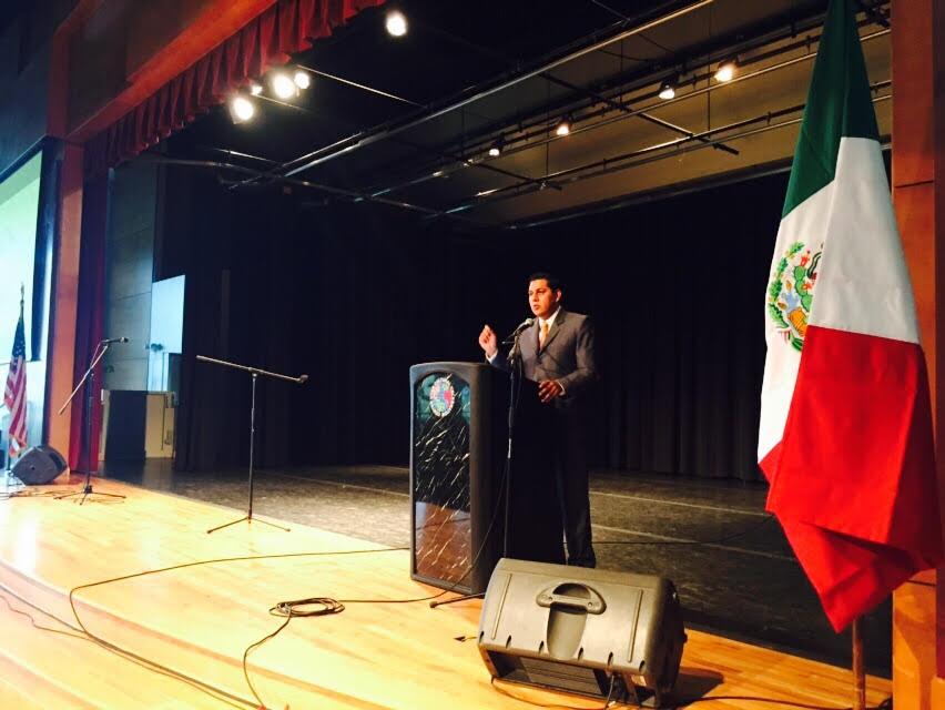 Realiza alcalde de @MpioCalvillo gira de trabajo con migrantes