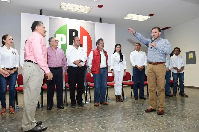 """Hay nuevo delegado del @PRIAguas: """"Nos arrebataron el triunfo de Goyo"""" @CarlosLozanoAgs"""