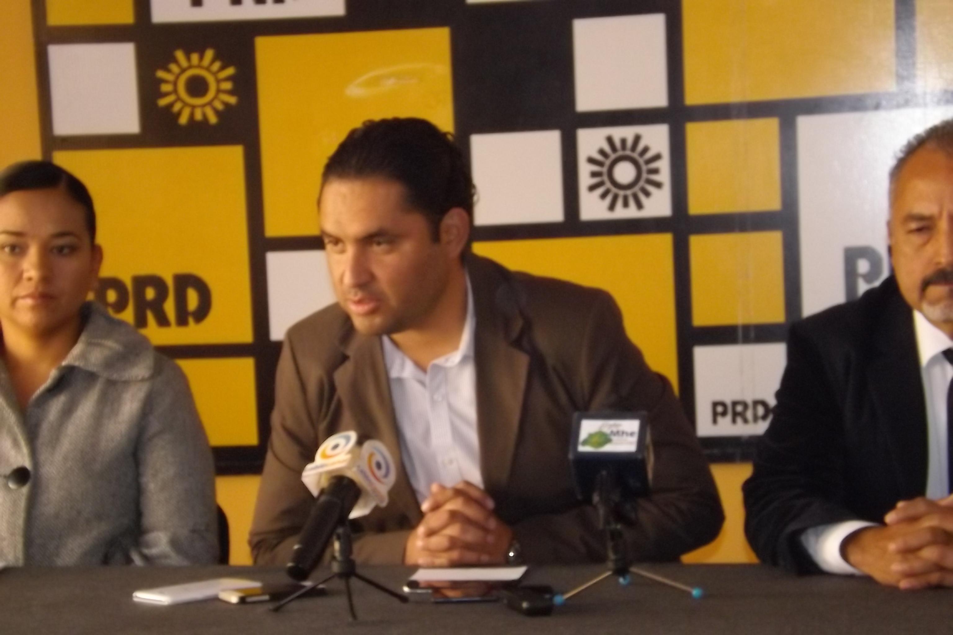 Recuerda PRD a @EPN sus promesas incumplidas con Aguascalientes