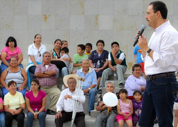 Entrega el @MunicipioAgs centro cultural en Pozo Bravo