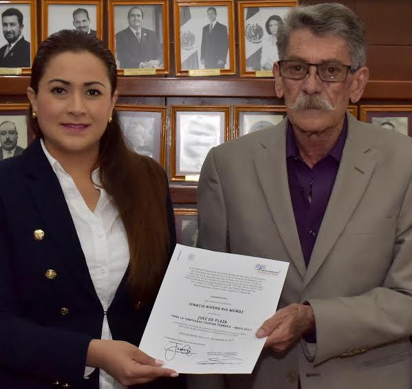 Ratifica @TereJimenezE a juez de plaza