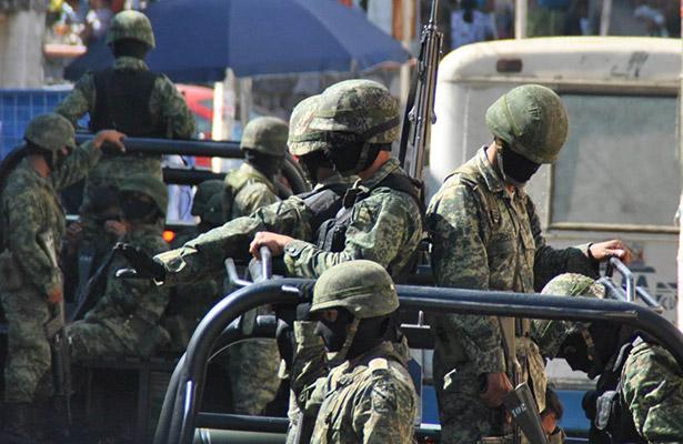 Ya hay patrullaje militar en Aguascalientes