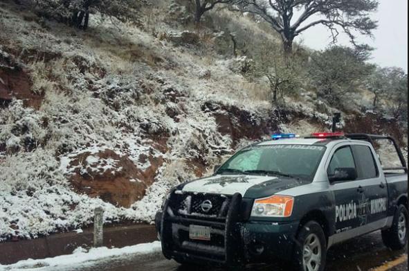 Frente frío y tormenta alertan a Protección Civil