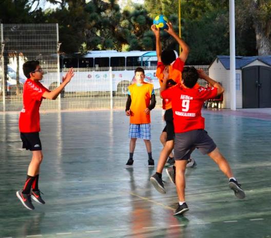 Gana la capital etapa estatal de handball