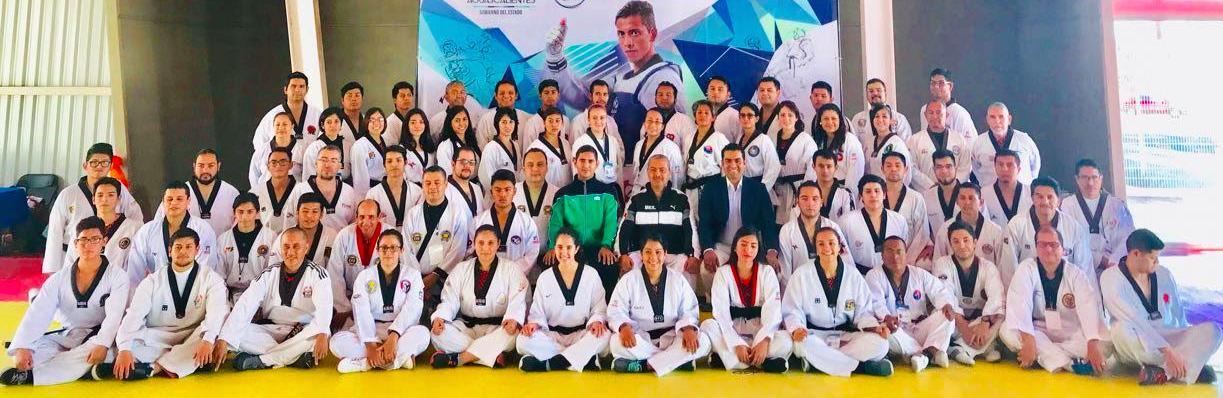 Participan 14 estados en seminario de Taekwondo