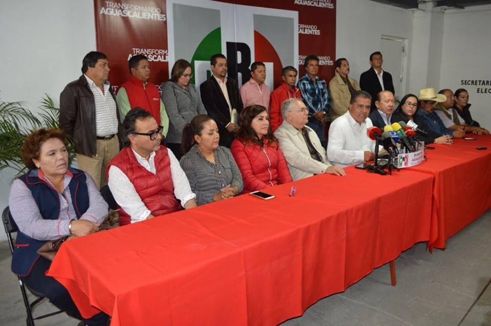 No renunciará Juárez ni Ibarra a la dirigencia del PRI
