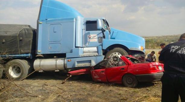 Dejan accidentes carreteros 61 muertes en solo cinco meses
