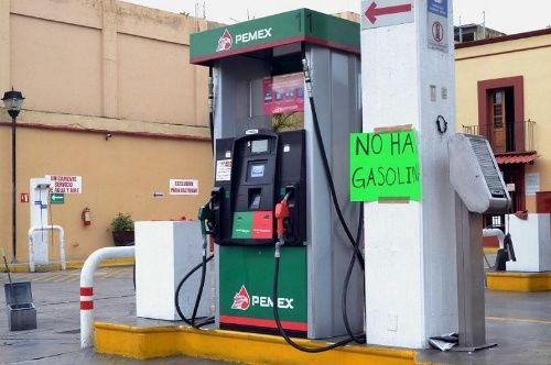 Desabasto de gasolinas deja pérdidas por 57.7 millones de pesos
