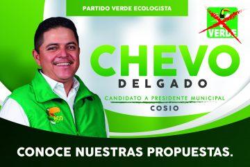 Acabará «Chevo» Delgado con el nepotismo en Cosío