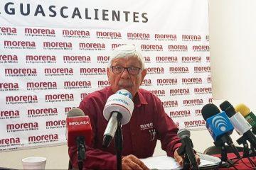 Candidato suplente de MORENA pide la salida de su dirigente y del senador Narro