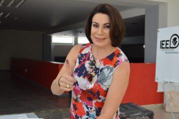 Regresa a la actividad partidista, Lorena Martínez